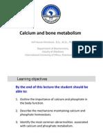 Calcium Metabolism 2012, New Version