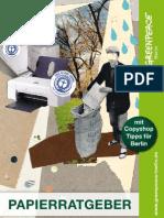 Papierratgeber 2012