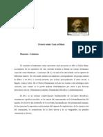 Ensayo Carlos Marx