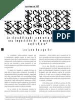 17683442 Vasapollo L La Estabilidad Contraria Al Trabajo Laberinto n 24 2007