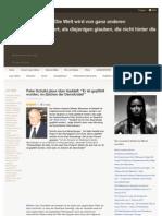 Peter Scholl-Latour über Gaddafi - Er ist gepfählt worden - marialourdesblog-wordpress-com