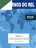Marcus Faro de Castro - De Westphalia a Seattle a teoria das relações internacionais em transição