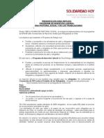 Presentación Porgrama de Inserción Laboral