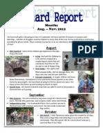 Aug-Nov. Reichard Report Newsletter