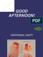 Peritoneal Cavity Powerpoint