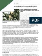 Hormon-Implantat Macht Vogelweibchen Zu Singenden Drag Kings - Natur - DerStandard