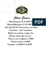 Skins Games 2012
