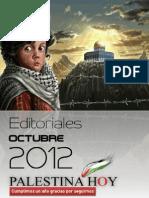 Editoriales Palestina Hoy Octubre 2012