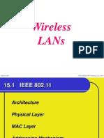 Ch 2 Wireless LANs
