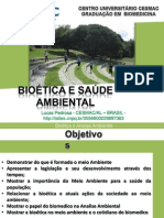 bioética e analise ambiental na biomedicina
