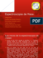 Espectroscopia de Masa