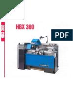 ernault hbx_360 plaquette