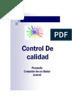Informe Control de Calidad
