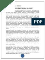 Analisis La Clase