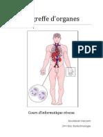 Greffe d'Organes