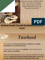 Tawheed Ruboobeeyah Practical