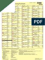 ÖBB Fahrplan Attnang Puchheim 2013