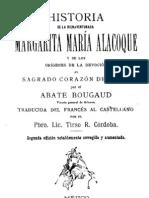 Historia de Santa Margarita Marìa de Alacoque