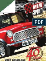Mini Sport Catalogue 2007