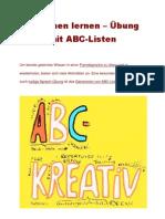 8_Sprachen lernen – Übung mit ABC