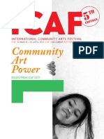 Prievew ICAF Book Community Art Power