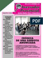 OBSERVADOR PROVINCIAL - Noviembre 2012