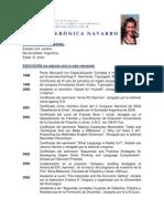 CV Judith Navarro