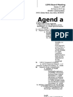 LDFA 1-27-09 Board Meeting Packet