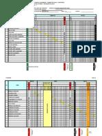 Diagrama de Gantt 2009-1