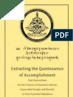 97589511 Dudjom Rinpoche Extracting the Quintessence of Accomplishment (2)