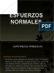 Esfuerzos normales
