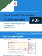 Google adwords tutorijal za početnike