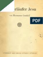 Gunkel, Hermann (1862-1932) - Ein Vorläufer Jesu - 1921 [servo di Jahve 2 Is]