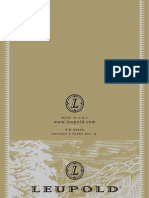 Leupold - Manual de Instalação e Operação