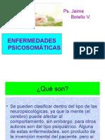 Las Enfermedades psicosomáticas.  Jaime Botello Valle