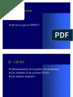 Formation GPAO