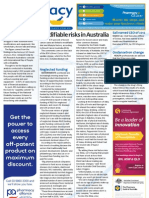 Pharmacy Daily for Mon 03 Dec 2012 - Australia\'s modifiable risks, Neglected funding, Ondansetron change, STI spike and much more...