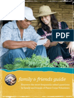 Peace Corps Family and Friends Guide 2012