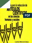 Guia para redacción de articulos cientificos