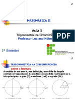 PDF 2c2ba Ano Aula 5 Trigonometria Na Circunferencia