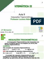 PDF 2c2baano Aula 9 Inequacoes Trigonometricas
