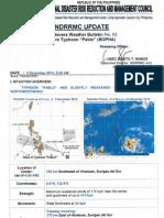 NDRRMC SWB No. 3 re Typhoon Pablo (BOPHA)