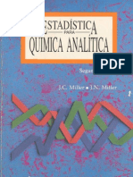 Estadística - Quimica Analitica