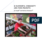 Planning Successful Community Based Food Projects Final