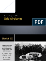 Odd Airplanes