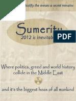 Sumerity, a TechnoThriller by Saundra McDavid