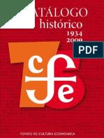 114177815 Catalogo Fondo de Cultura Economica
