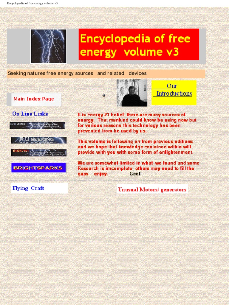 E Books The Encyclopedia Of Free Energy Vol13 Capacitor Http Mk1 Performance Conversions Co Uk Wiring Diagram Moke To 1967 Magnetic Field