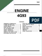 4g93 Lancer Engine