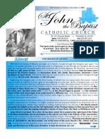 December 2 2012 Bulletin